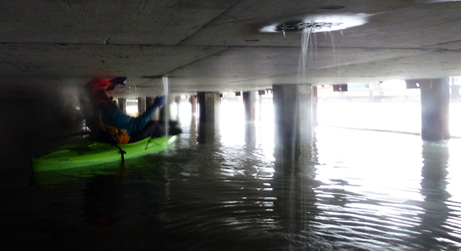 Kayak patrol