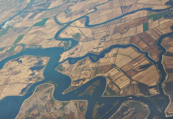 Delta aerial