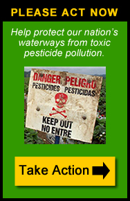 Take action to protect waterways from pesticides