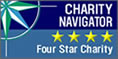 Charity Navigator 4-Star Rating