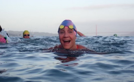 Erika Gliebe in the Bay