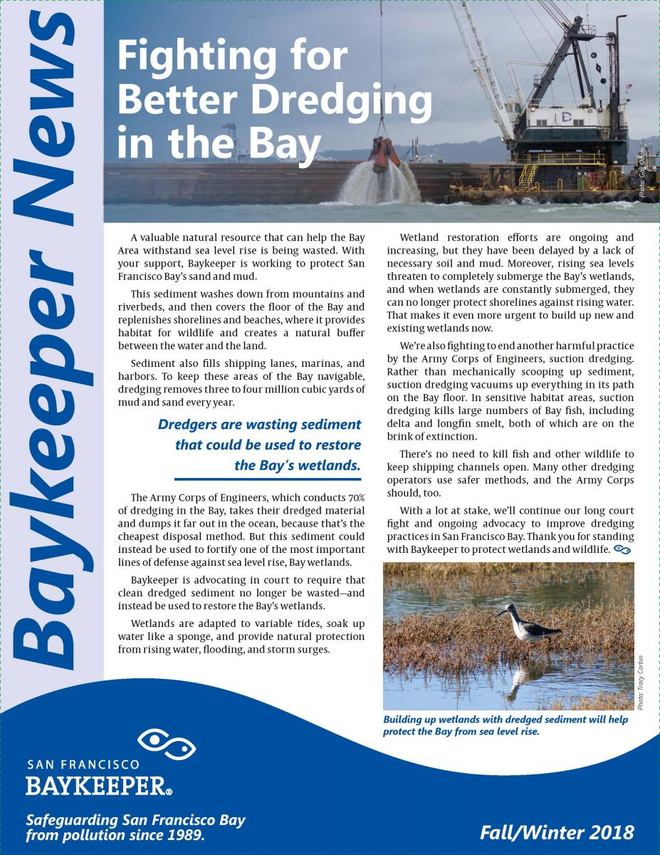 Baykeeper Fall Winter Newsletter