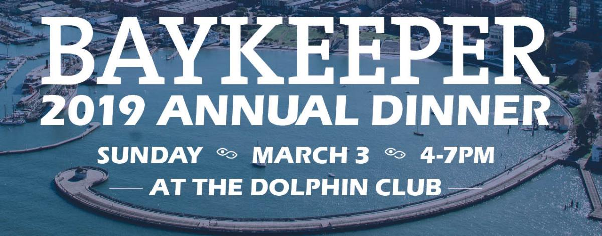 Baykeeper 2019 Dinner