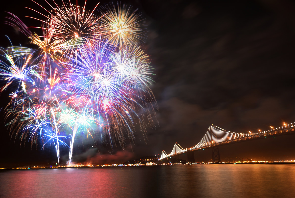 Do Fireworks Pollute the Bay?