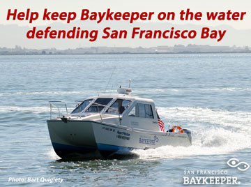 Help keep the Baykeeper boat on the water!