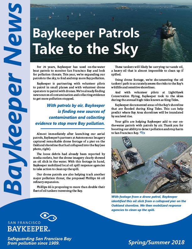 Baykeeper spring summer Newsletter