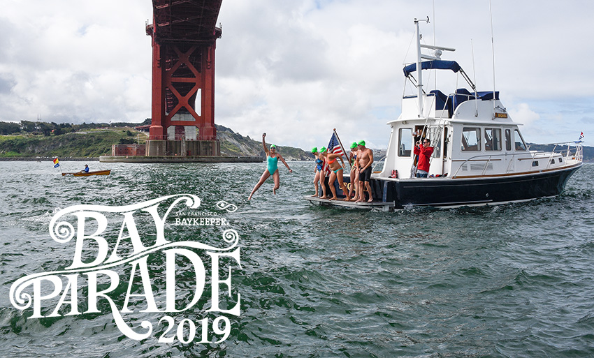 2019 Golden Rivet Bay Parade Swim
