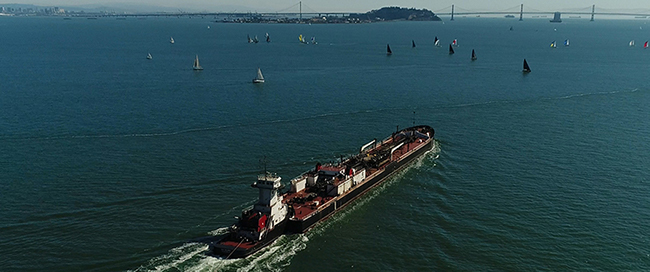 Got a sinking feeling? Cheer up, our new law protects the Bay from non-floating oils